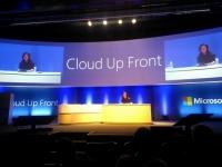 Microsoft Cloud UpFront 2013