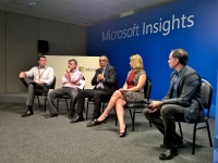 Marketing Panel at Microsoft Insights