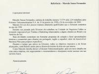 Marcelo Fernandes, Ericsson