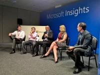 Marketing Panel at Microsoft Insights