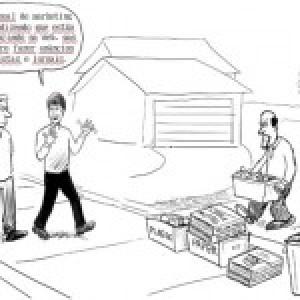 Web ou impresso, onde investir? (cartoon)